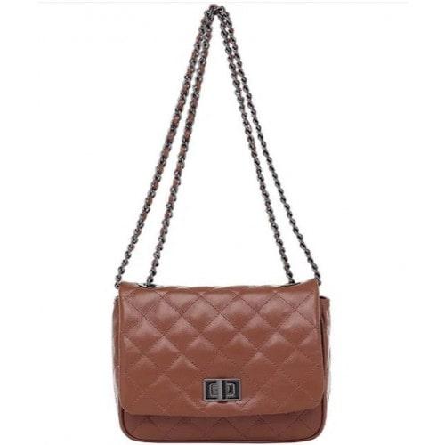Bolsa Transversal Smartbag Couro Caramelo